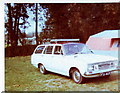 SP8061 : Vauxhall Victor 101 De-lux Estate, Billing Aquadrome by nick macneill