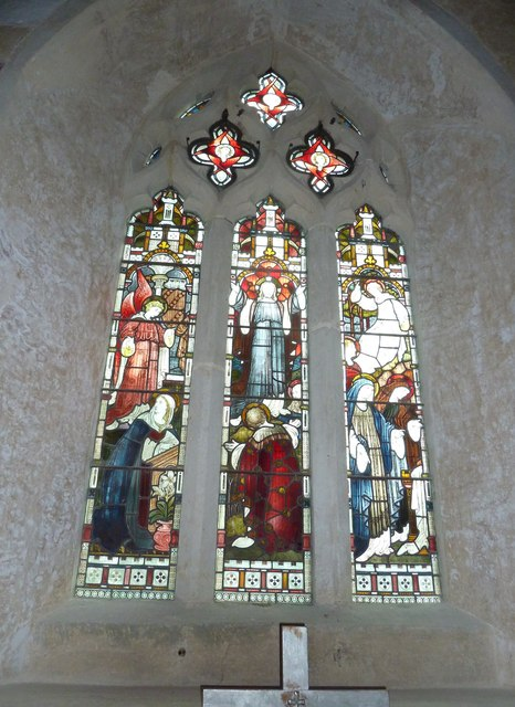 St Mary's Church, Breamore-stained glass window (8)