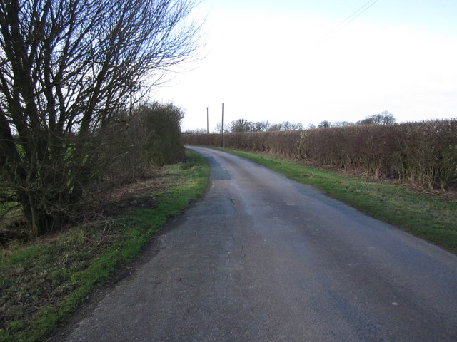 The road to Warmington