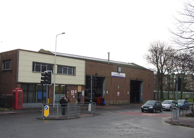 Bus garage, Musselburgh
