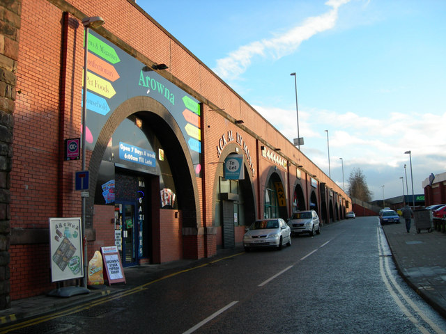 Crown Street Arches