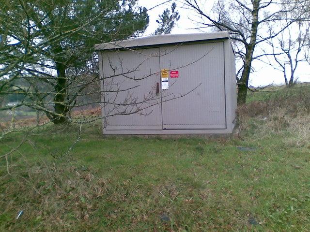 Electricity Sub Station, Aberbargoed