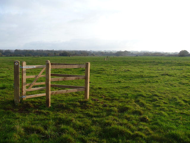 Lonely kissing gate