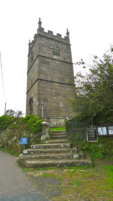 Saint Senara's Church Zennor