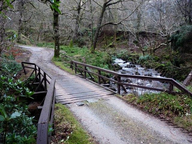 Bridge over Invervegain Burn
