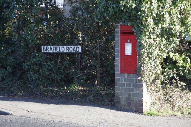 Postbox on Brafield Road