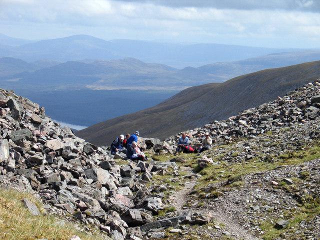 Boulders at Uinneag Coire Ardair