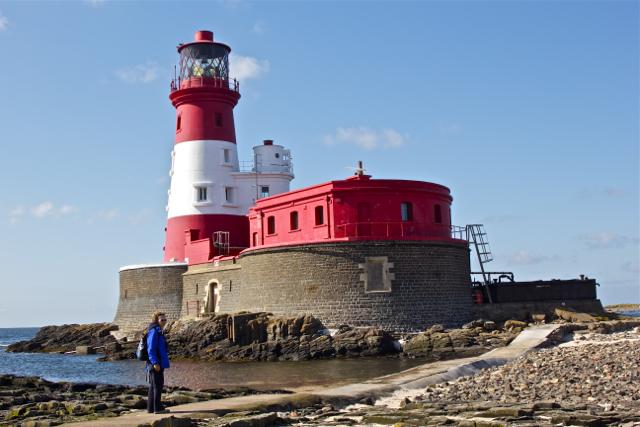 Longstone Lighthouse South Landing Path