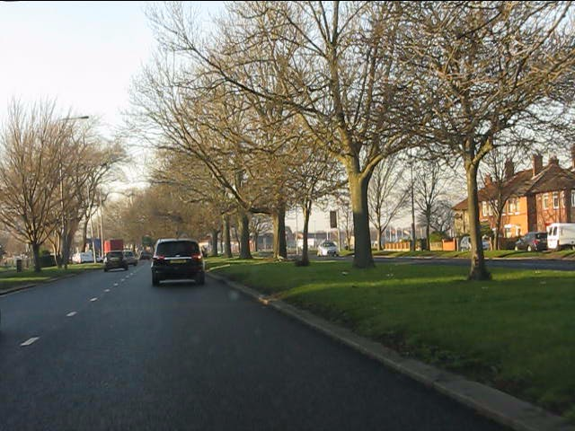 Queens Drive approaching Richard Kelly Drive