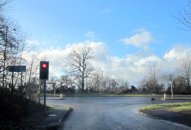 Gate Lane Joining A3400 Stratford Road