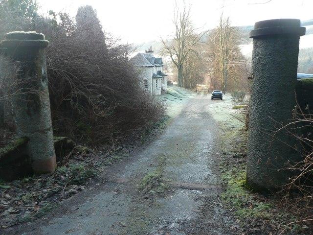Gateway to Ledpetty Lodge