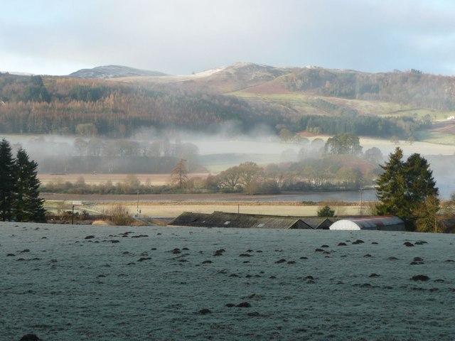 Pasture with molehills