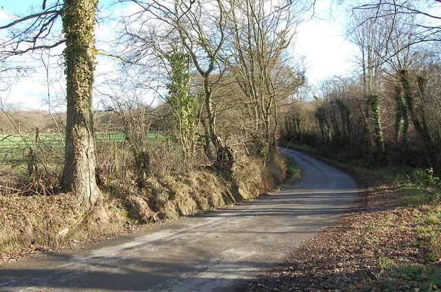Bend in Readers Bridge Road