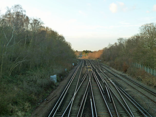 Railway towards Bromley