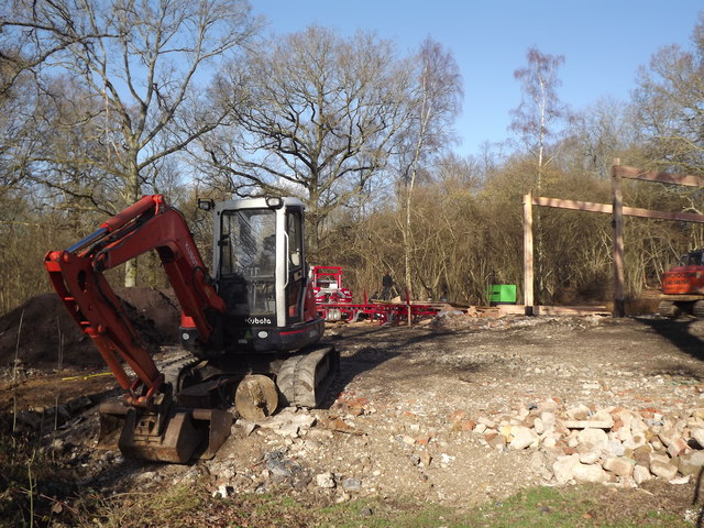 Construction in South Copse