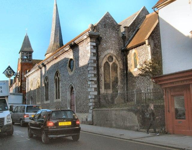 St Michael's church, Lewes