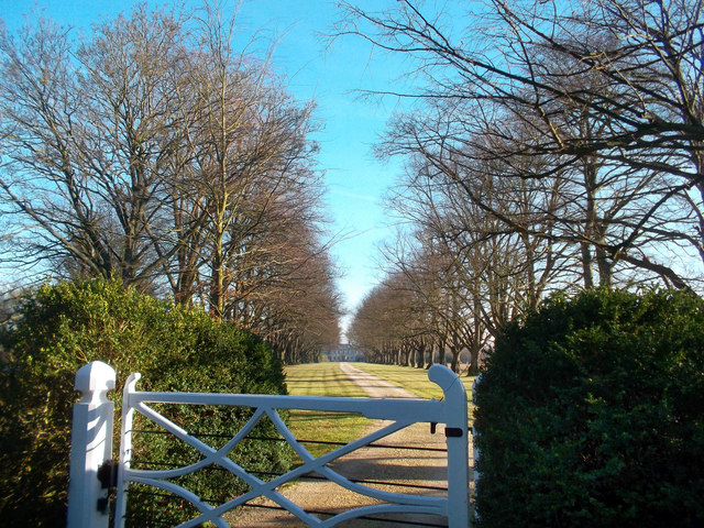 Gate and Avenue, Woodperry House