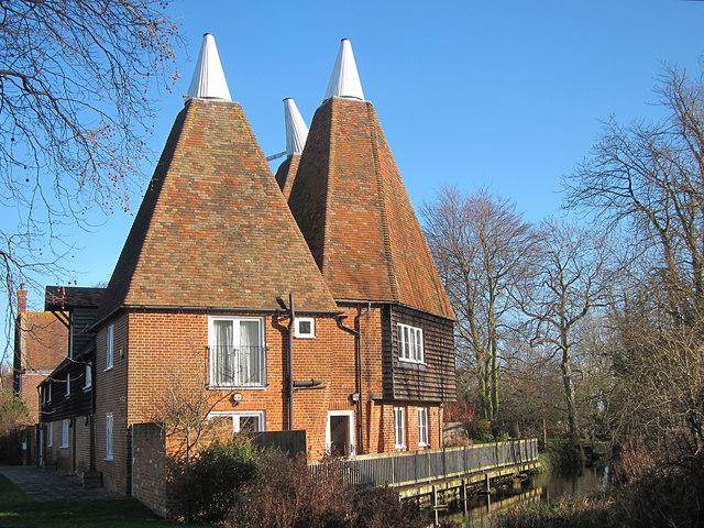 Oast House, The Green, Littlebourne, Kent