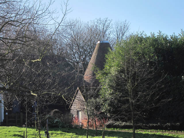 Oast House at Duckpits Farmhouse, Ickham And Well