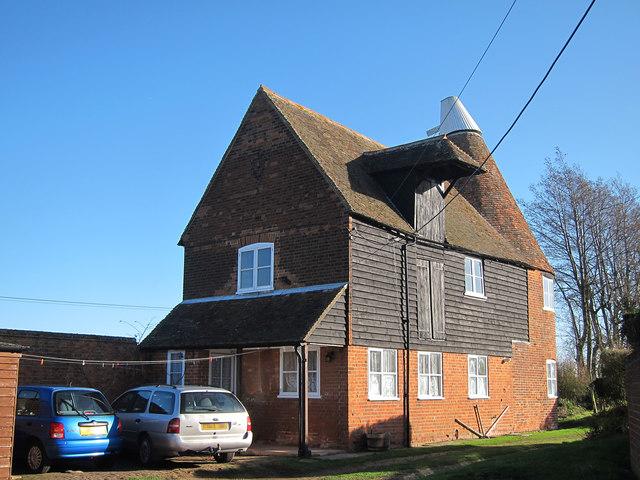 Cherville Oast, Cherville Lane, Ickham