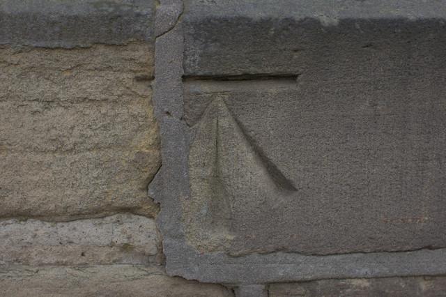 Cut Bench Mark, #65 Birklands Road