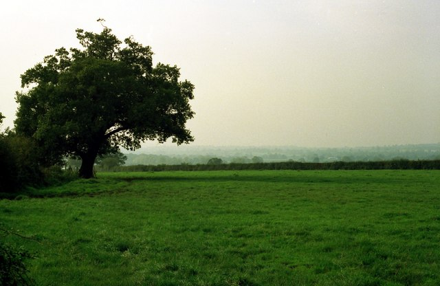 View towards the border from Dodleston