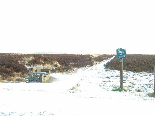 Winter on Slaithwaite Moor