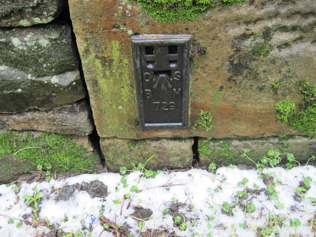 Ordnance Survey Flush Bracket 729
