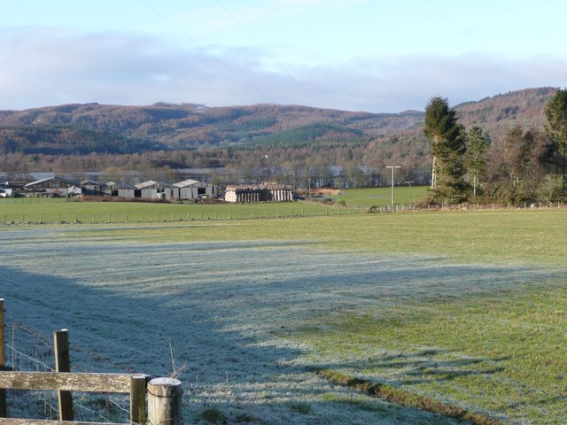 Frosty pasture at Letter