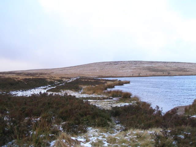 Cupwith Reservoir and Cupwith Hill