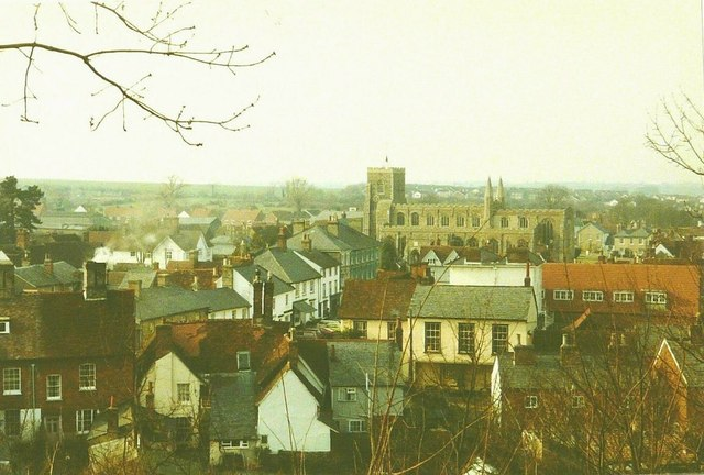 View over Clare in 1984