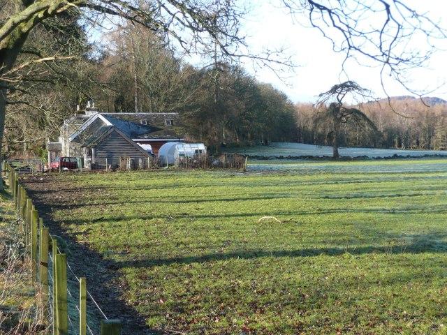 Cottages near Craigantaggart