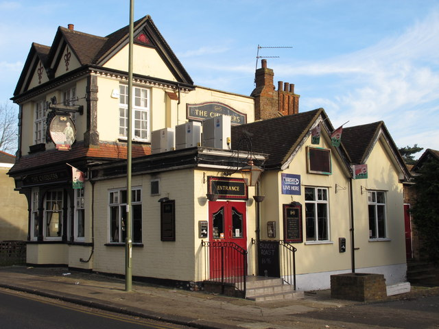 The Chequers, Church End, NW4