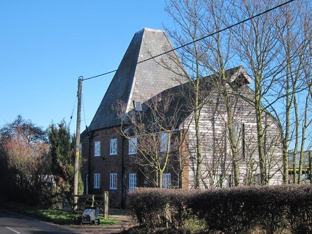Oast House at Preston Hill Farm, Preston Hill, Wingham