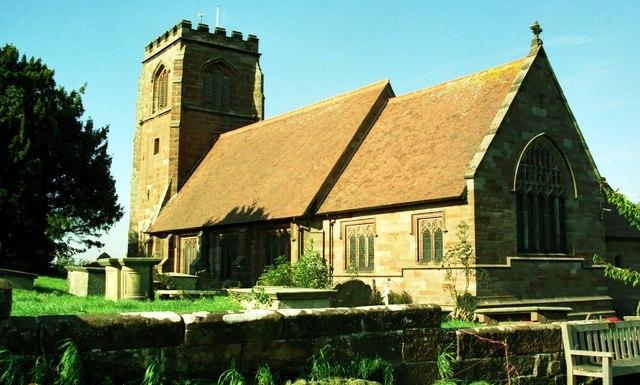St Mary's Church, Tilston