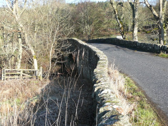 Bridge over Lunan Burn