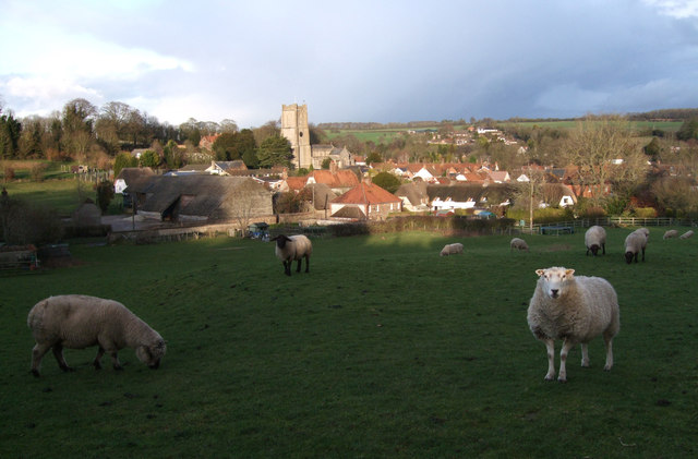 Aldbourne Church from Castle Street