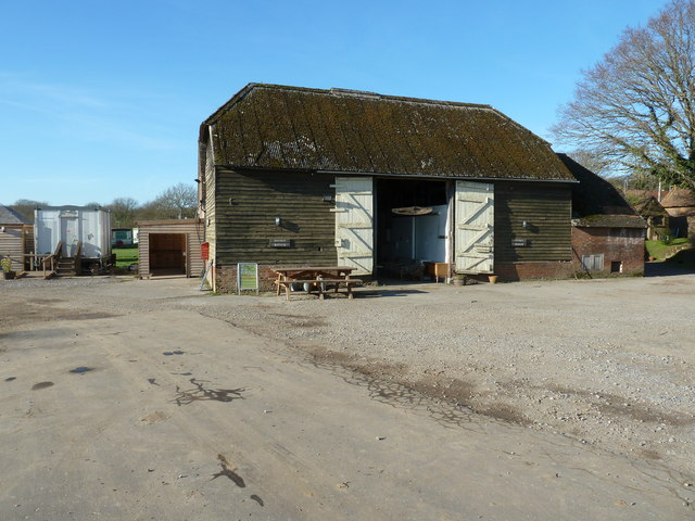 Barn converted into social area at the Wowo Centre