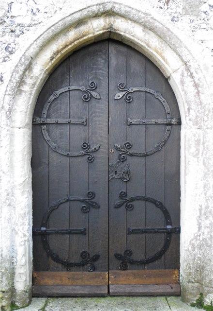 West door, The Church of All Saints