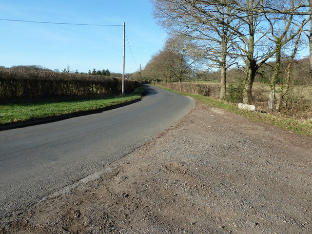 NW along Butterbox Lane