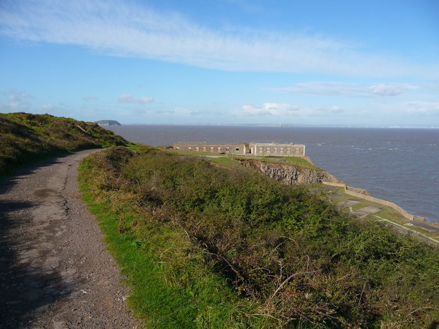 Brean Down - Track To Brean Down Fort
