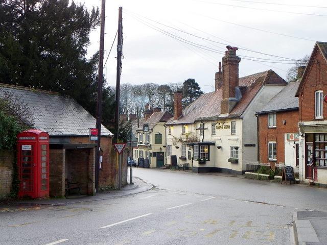 Village street, Whiteparish