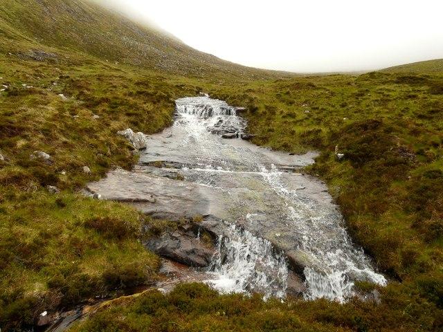 Lochan Bealach Cornaidh feeder burn