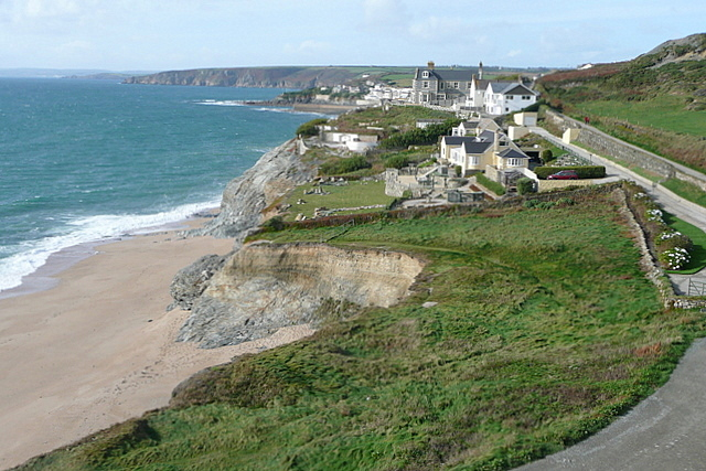The first houses in Porthleven