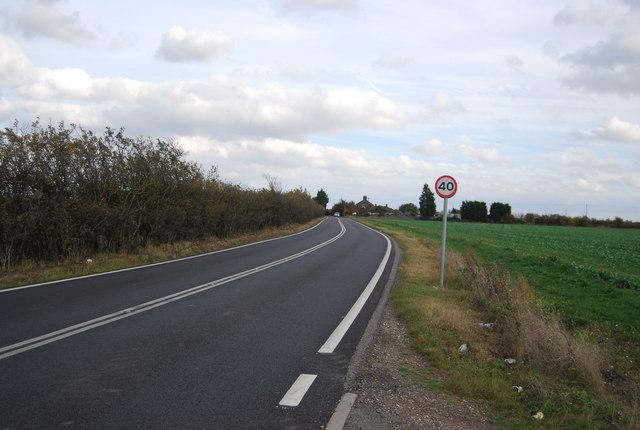 A228 heading east