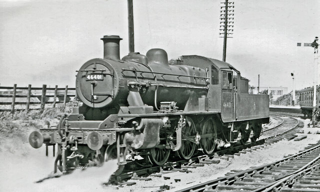 LMS Ivatt 2MT 2-6-0 at Ashchurch