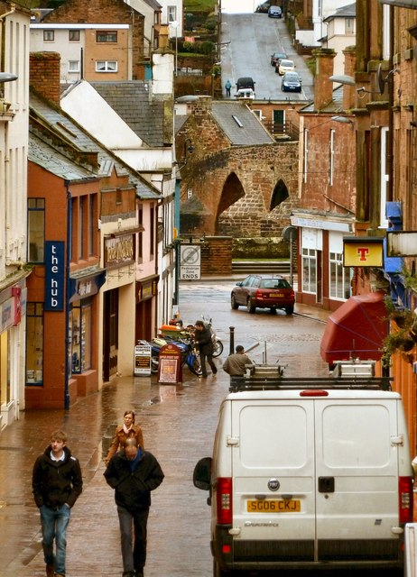 Damp and Dreary Dumfries