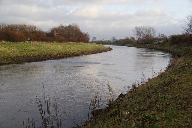 The River Irwell below Brindle Heath