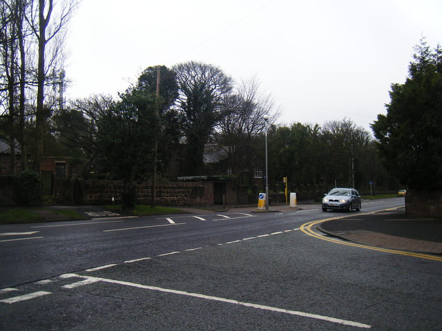 Column Road from Grammar School Lane