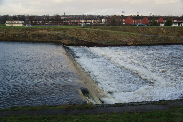 Weir on the River Irwell